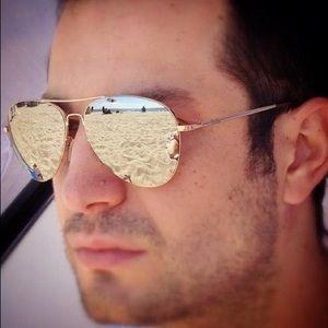 d009eb7804 Men s Reflective Aviator Sunglasses on Poshmark